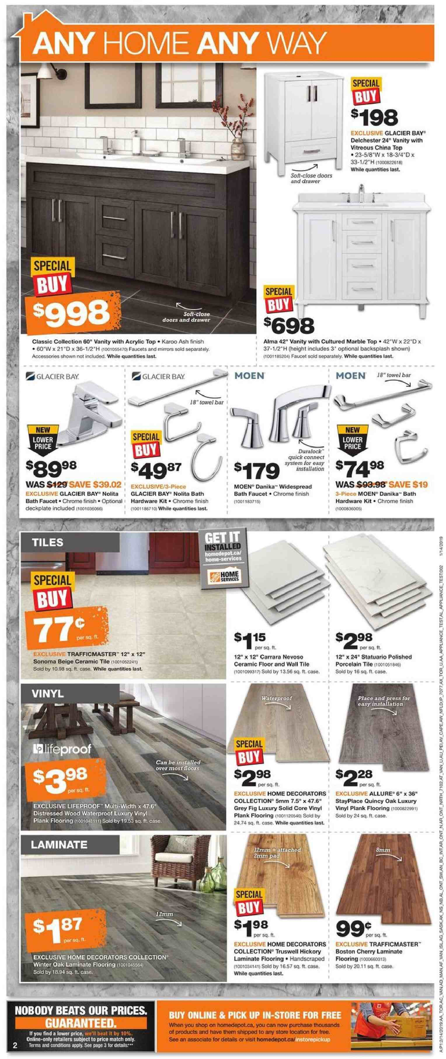 The Home Depot Flyer February 14 2019 February 20 2019 Page 3 Canadian Flyers