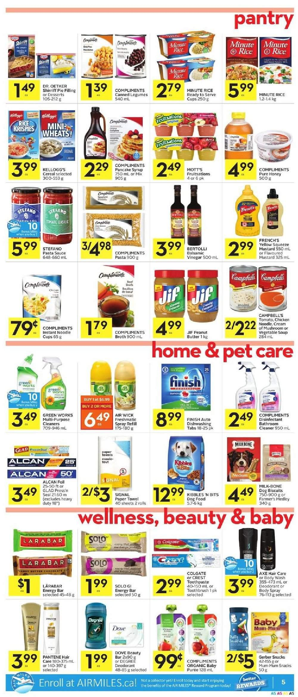 Foodland Flyer  - February 21, 2019 - February 27, 2019. Page 5.