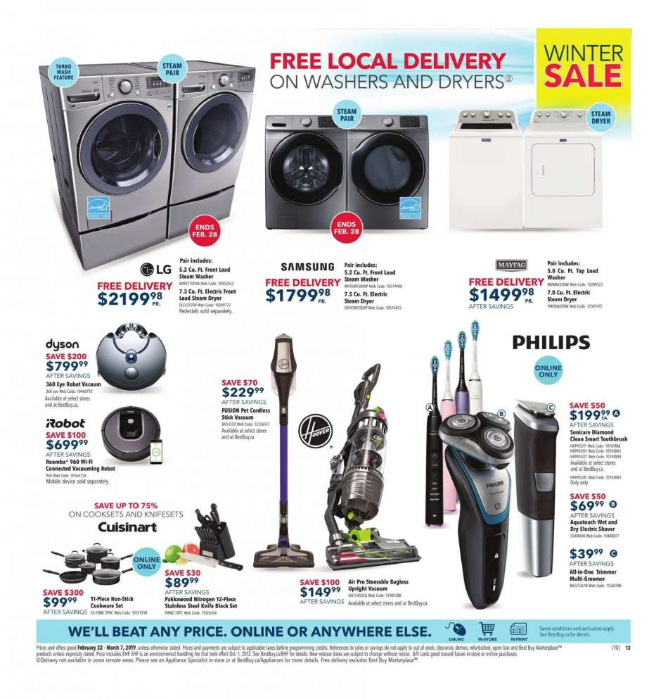 Current Best Buy flyer February 22, 2019 - March 07, 2019
