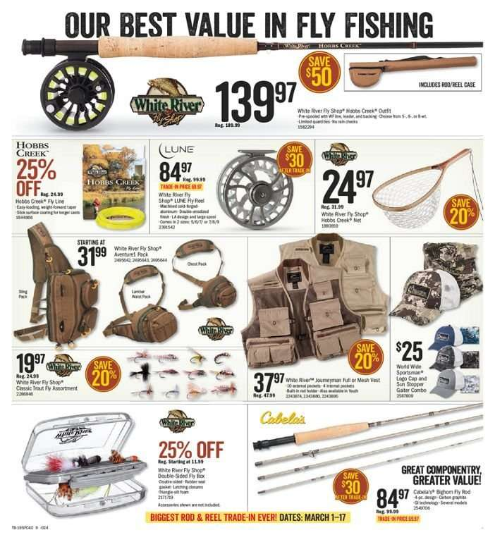 Current Bass Pro Shops flyer March 01, 2019 - March 17, 2019 | Ca