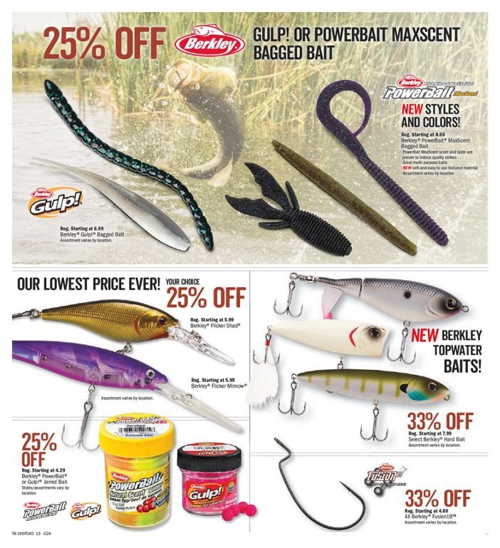 Bass Pro Shops Flyer  - March 01, 2019 - March 17, 2019. Page 13.
