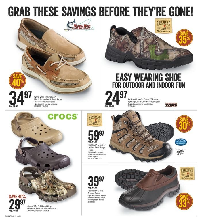 Bass Pro Shops Flyer  - March 01, 2019 - March 17, 2019. Page 22.