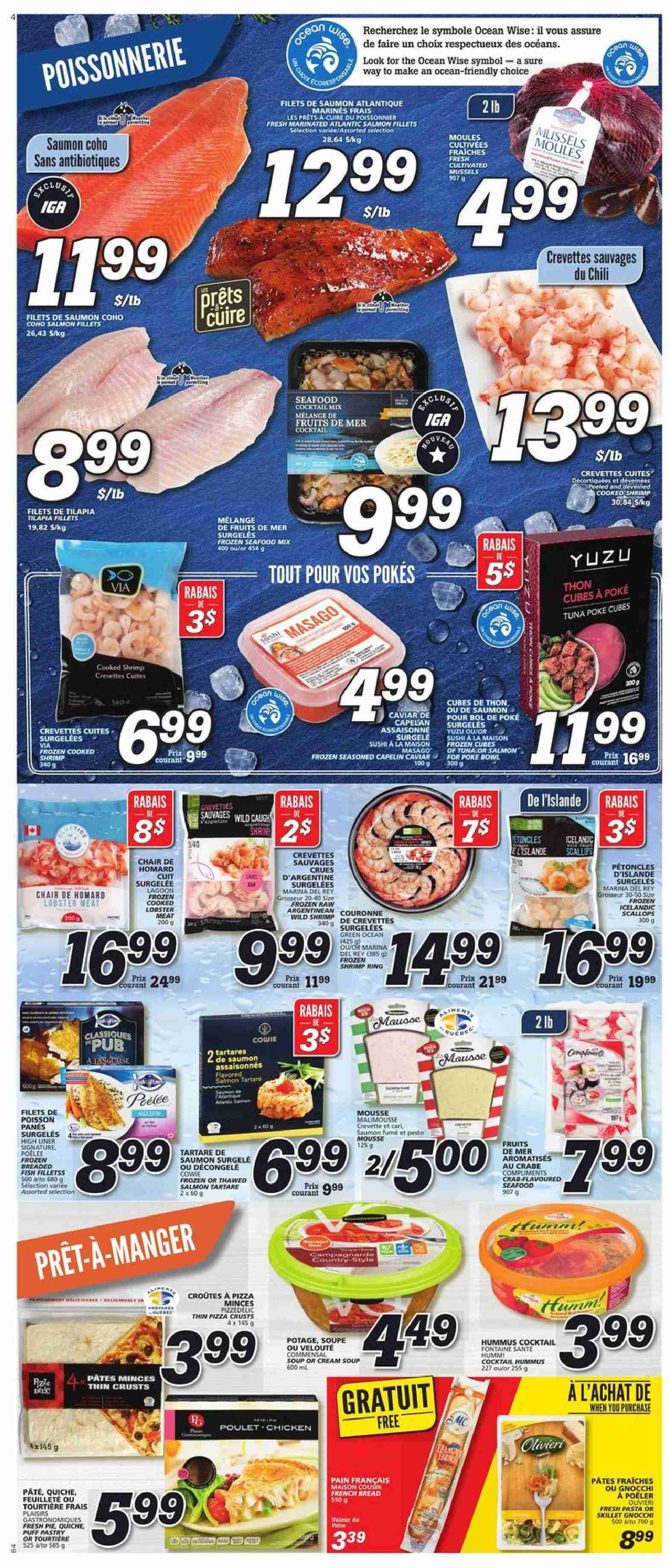 IGA Flyer  - February 28, 2019 - March 06, 2019. Page 4.