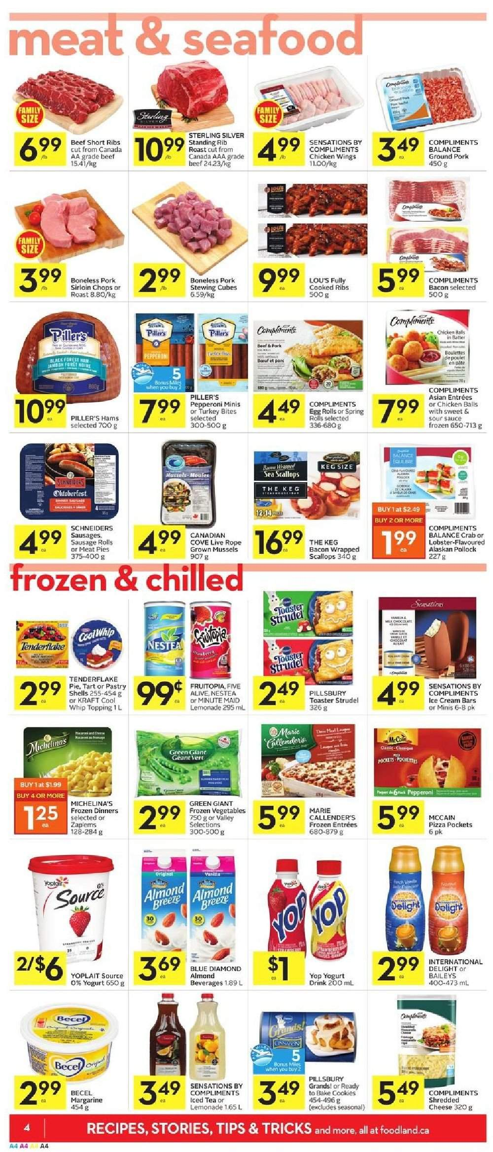 Foodland Flyer  - February 28, 2019 - March 06, 2019. Page 4.
