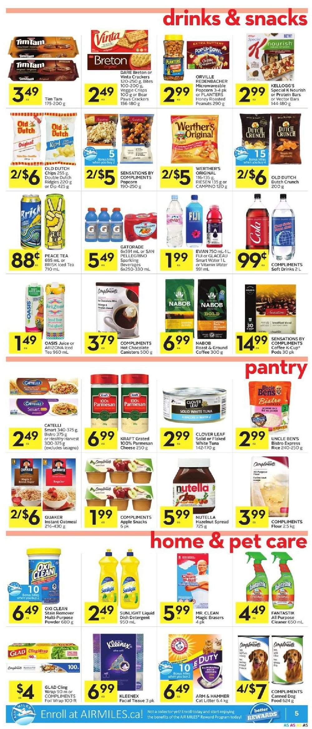 Foodland Flyer  - February 28, 2019 - March 06, 2019. Page 5.