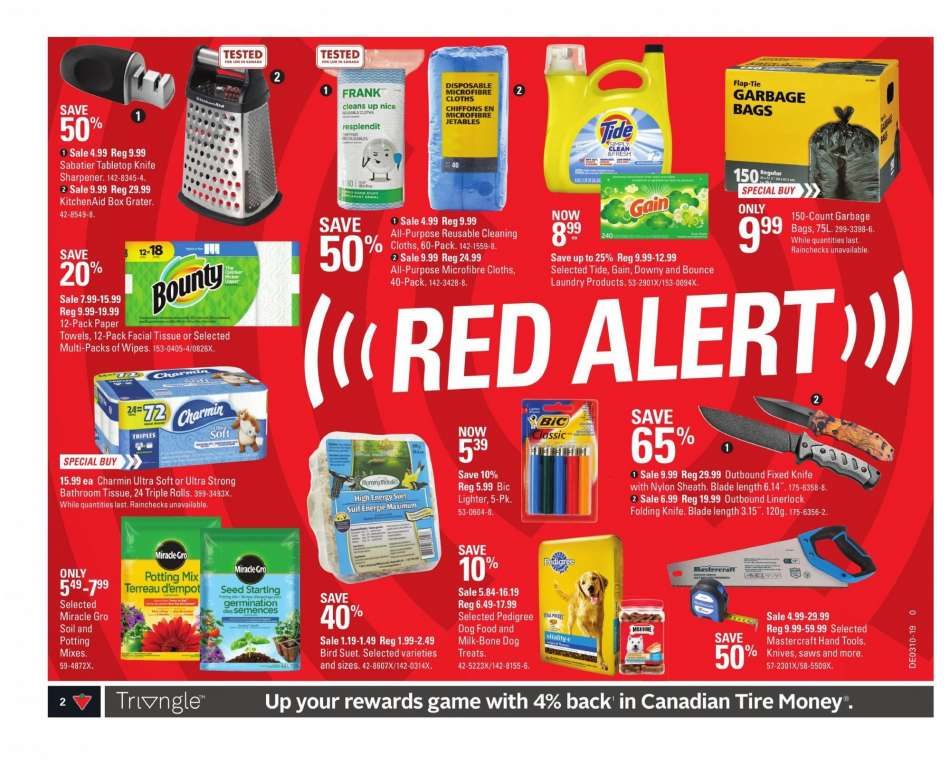 Current Canadian Tire flyer March 01, 2019 - March 07, 2019 | Ca