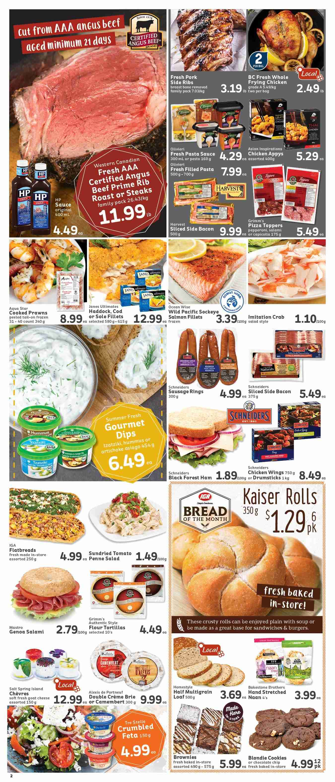 IGA Flyer  - March 01, 2019 - March 07, 2019. Page 2.