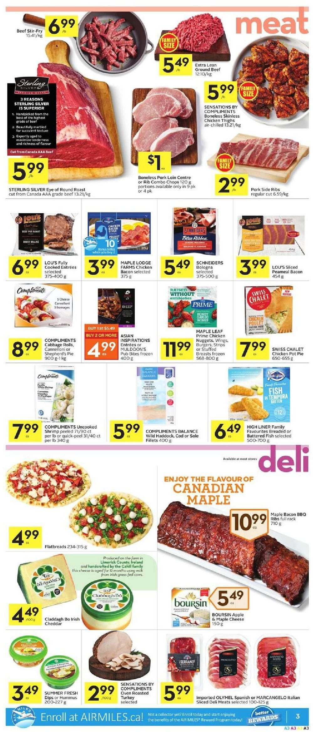 Foodland Flyer  - March 07, 2019 - March 13, 2019. Page 3.