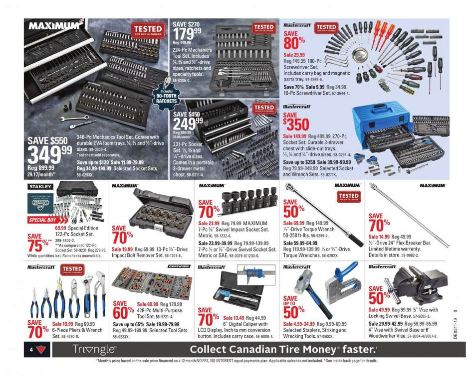 Current Canadian Tire Flyer March 08 2019 March 14 2019