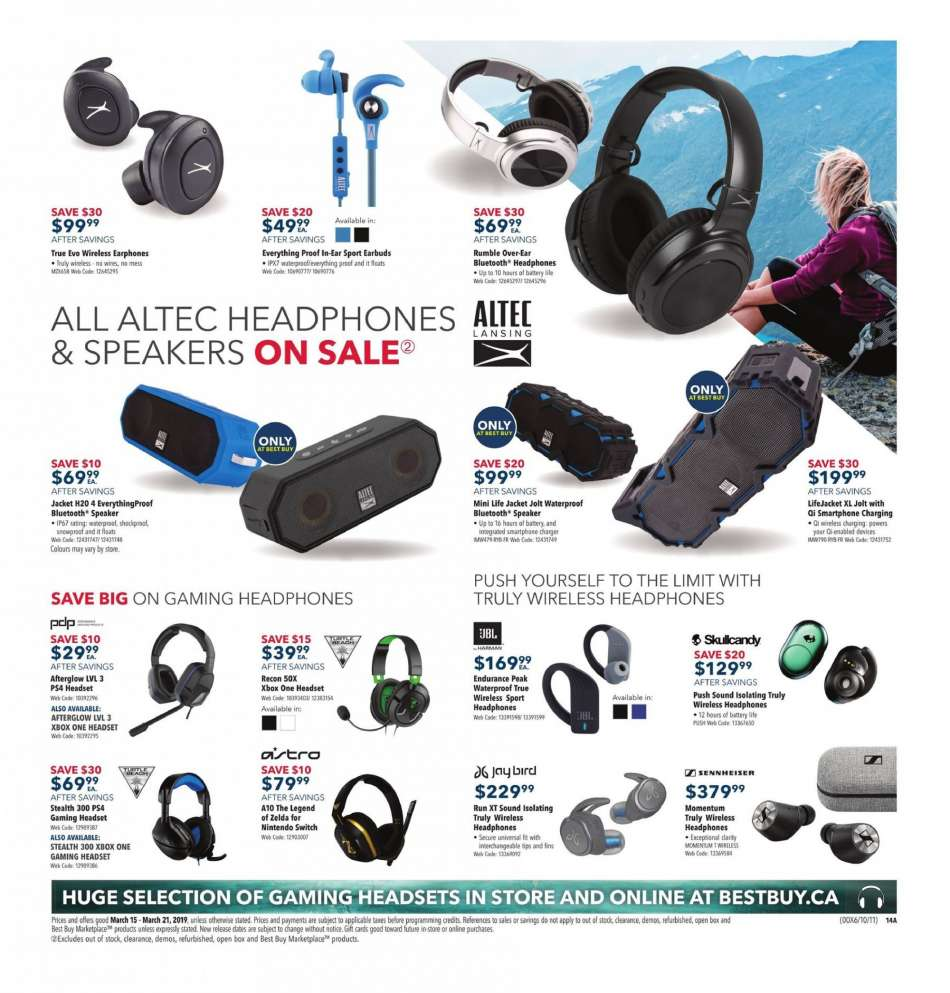 Current Best Buy flyer March 15, 2019 - March 21, 2019 | Ca