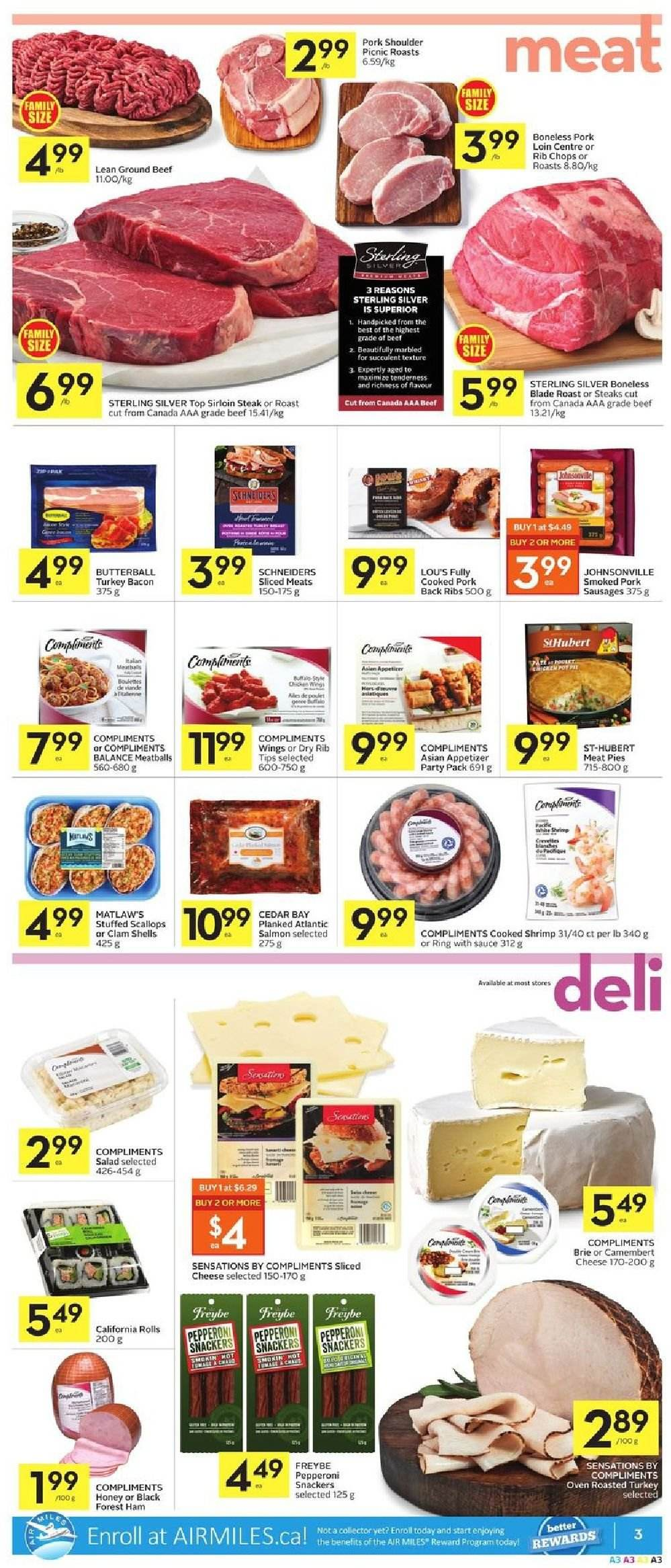 Foodland Flyer  - March 21, 2019 - March 27, 2019. Page 3.