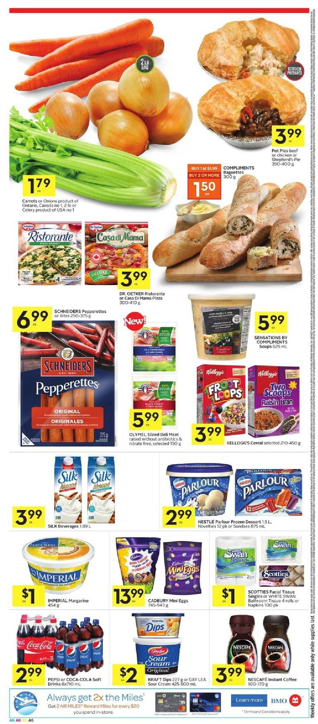 Foodland Flyer  - March 21, 2019 - March 27, 2019. Page 6.