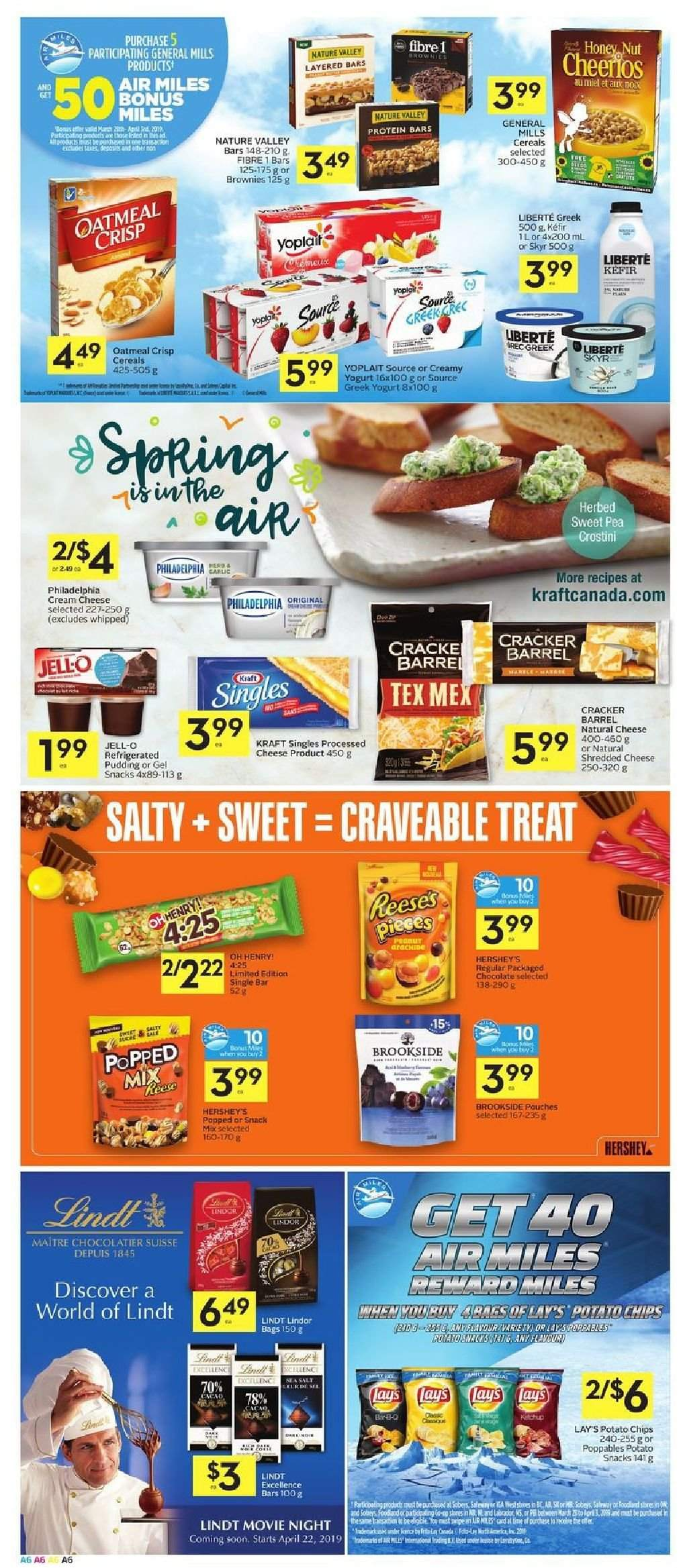 Foodland Flyer  - March 28, 2019 - April 03, 2019. Page 6.