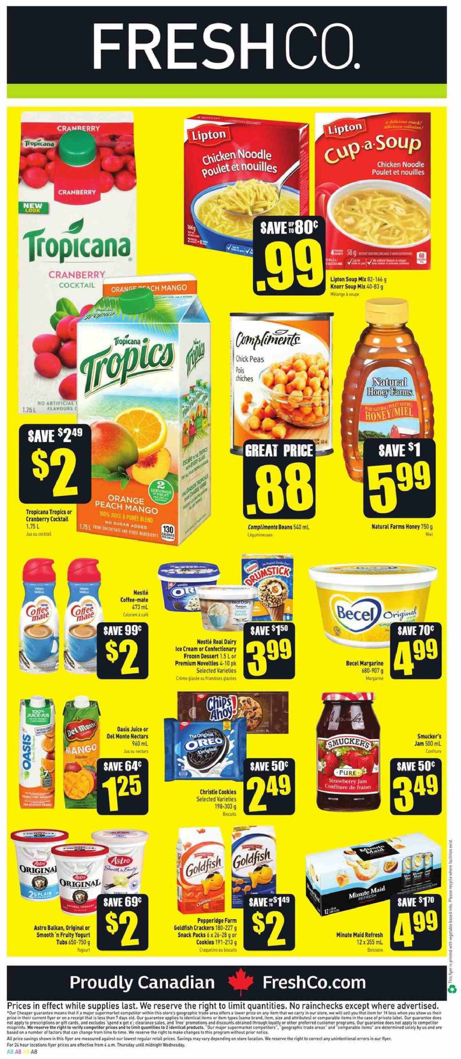 FreshCo. Flyer  - April 04, 2019 - April 10, 2019. Page 8.