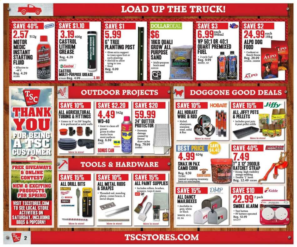 Current TSC Stores flyer April 12, 2019 - April 17, 2019