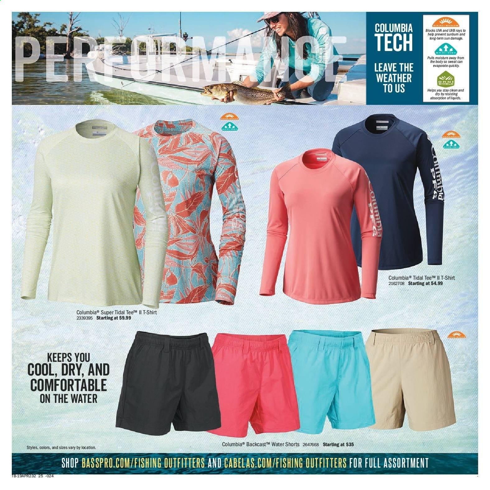 Bass Pro Shops Flyer  - April 12, 2019 - April 28, 2019. Page 25.