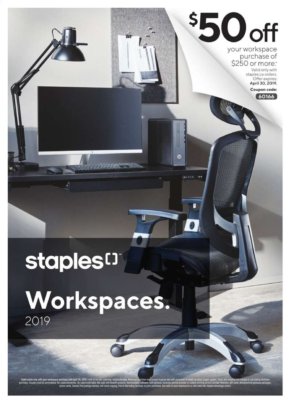 Current Staples flyer April 09, 2019 - April 30, 2019 | Ca-flyers com