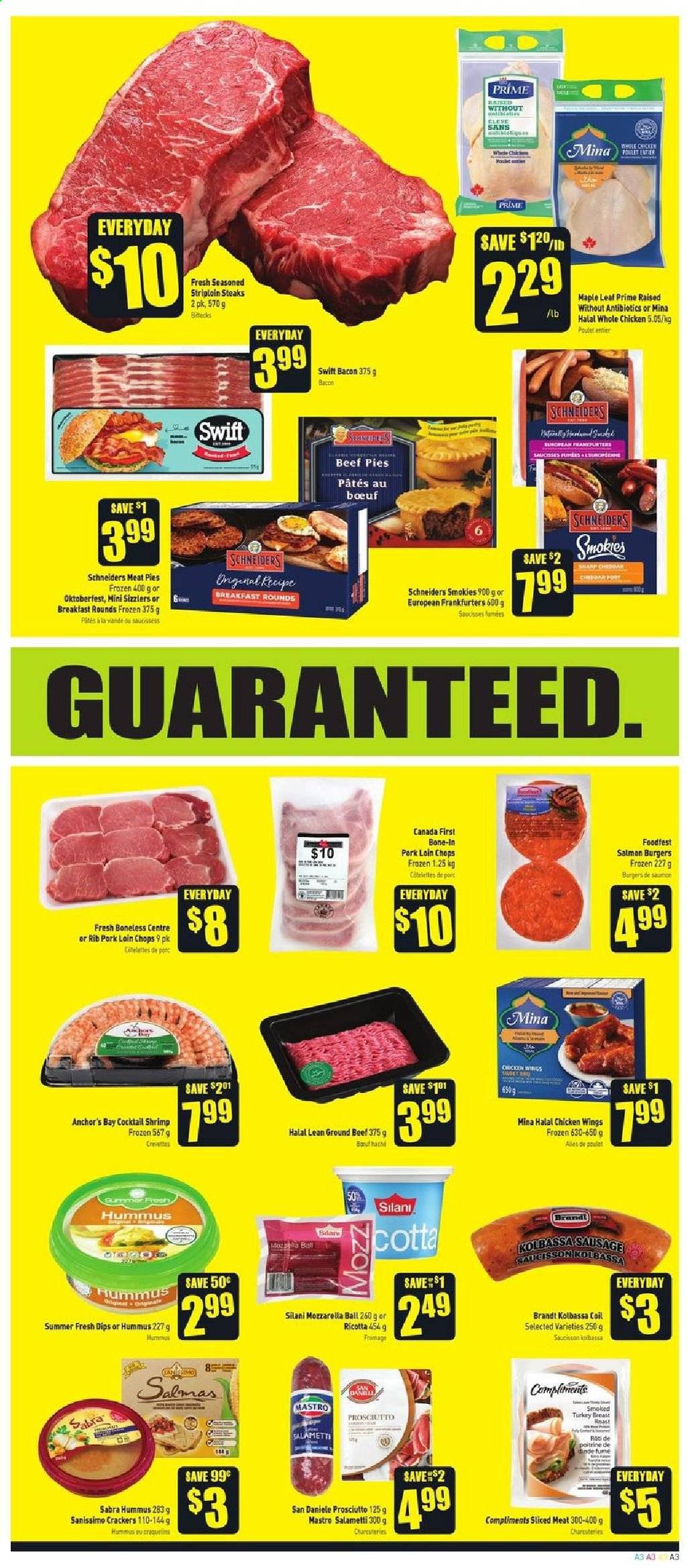 FreshCo. Flyer  - April 18, 2019 - April 24, 2019. Page 3.