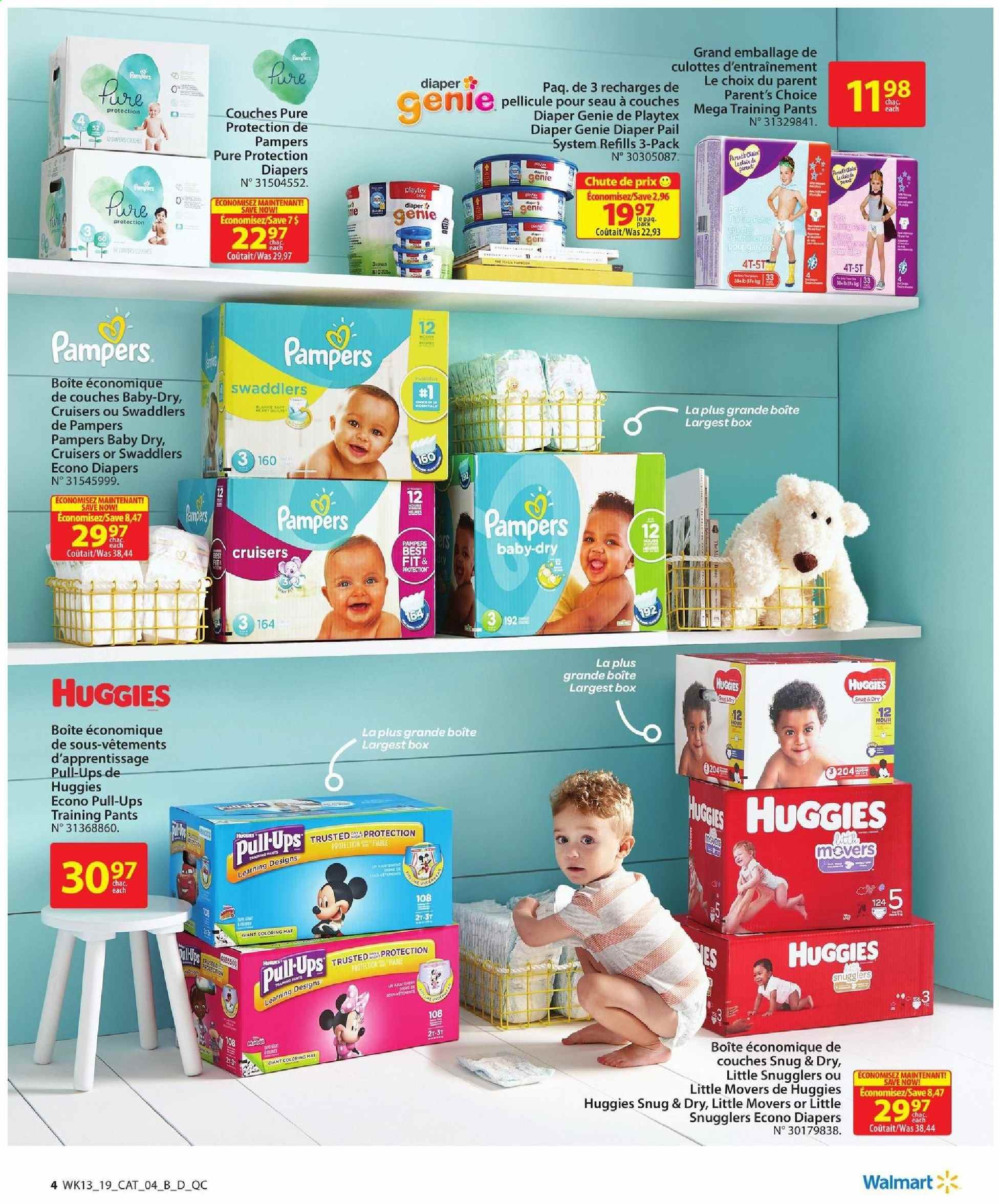 Walmart Flyer  - April 18, 2019 - May 01, 2019. Page 4.
