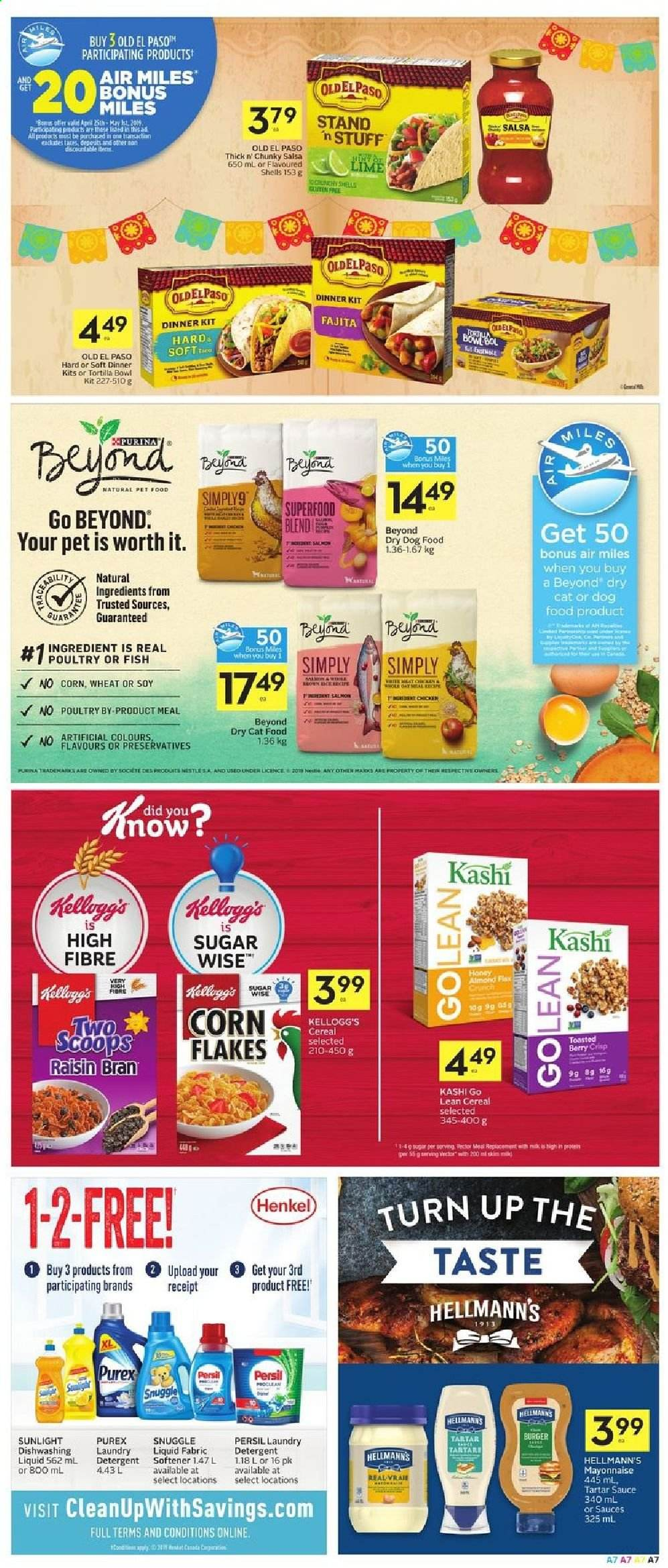 Foodland Flyer  - April 25, 2019 - May 01, 2019. Page 7.