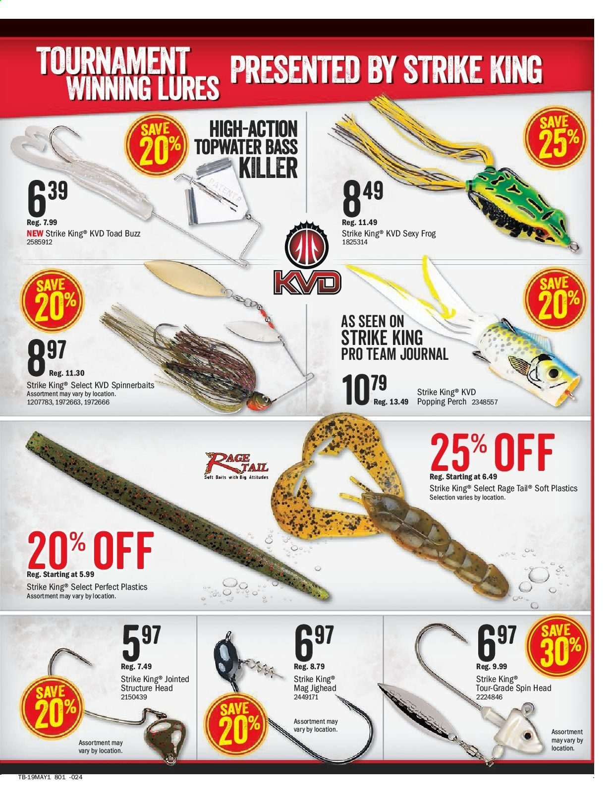 Bass Pro Shops Flyer  - April 26, 2019 - May 12, 2019. Page 13.