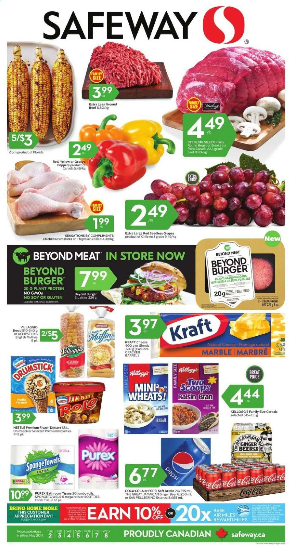 Current Safeway flyer May 02, 2019 - May 08, 2019 | Ca-flyers com
