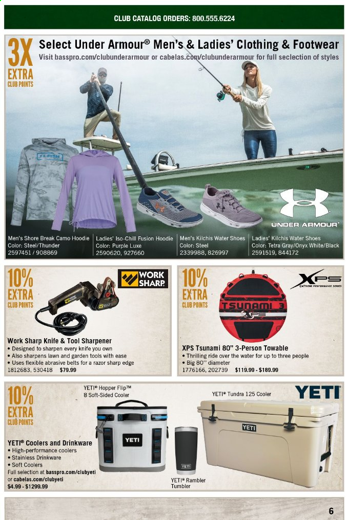 Bass Pro Shops Flyer  - May 01, 2019 - May 31, 2019. Page 6.