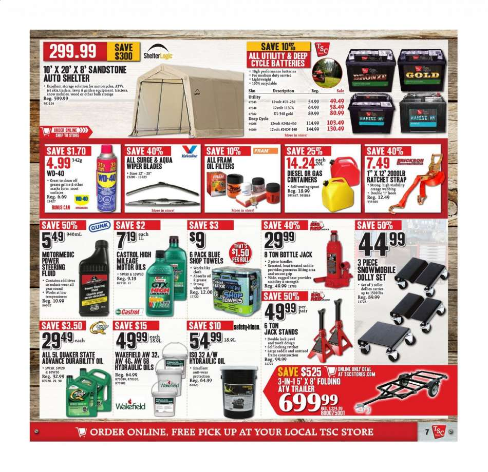 Current TSC Stores flyer May 03, 2019 - May 08, 2019 | Ca
