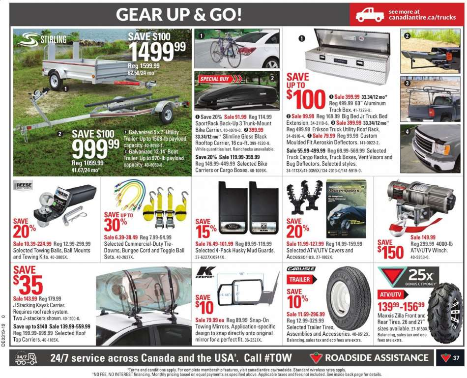 Current Canadian Tire flyer May 03, 2019 - May 09, 2019 | Ca-flyers com