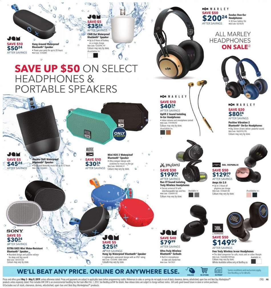 Current Best Buy flyer May 03, 2019 - May 09, 2019 | Ca