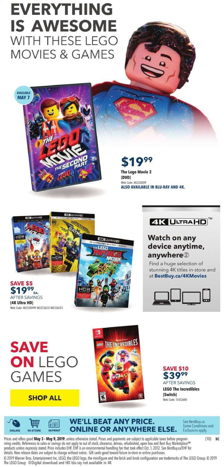 Current Best Buy flyer May 03, 2019 - May 09, 2019 | Ca-flyers com