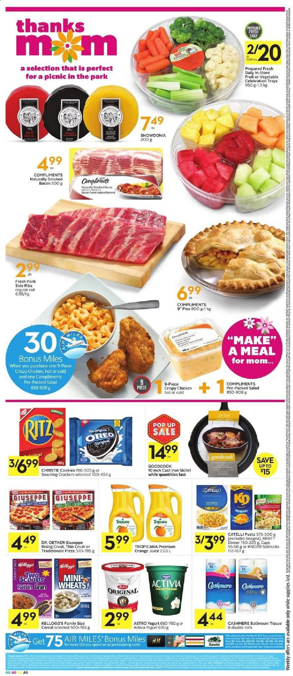 Foodland Flyer  - May 09, 2019 - May 15, 2019. Page 6.