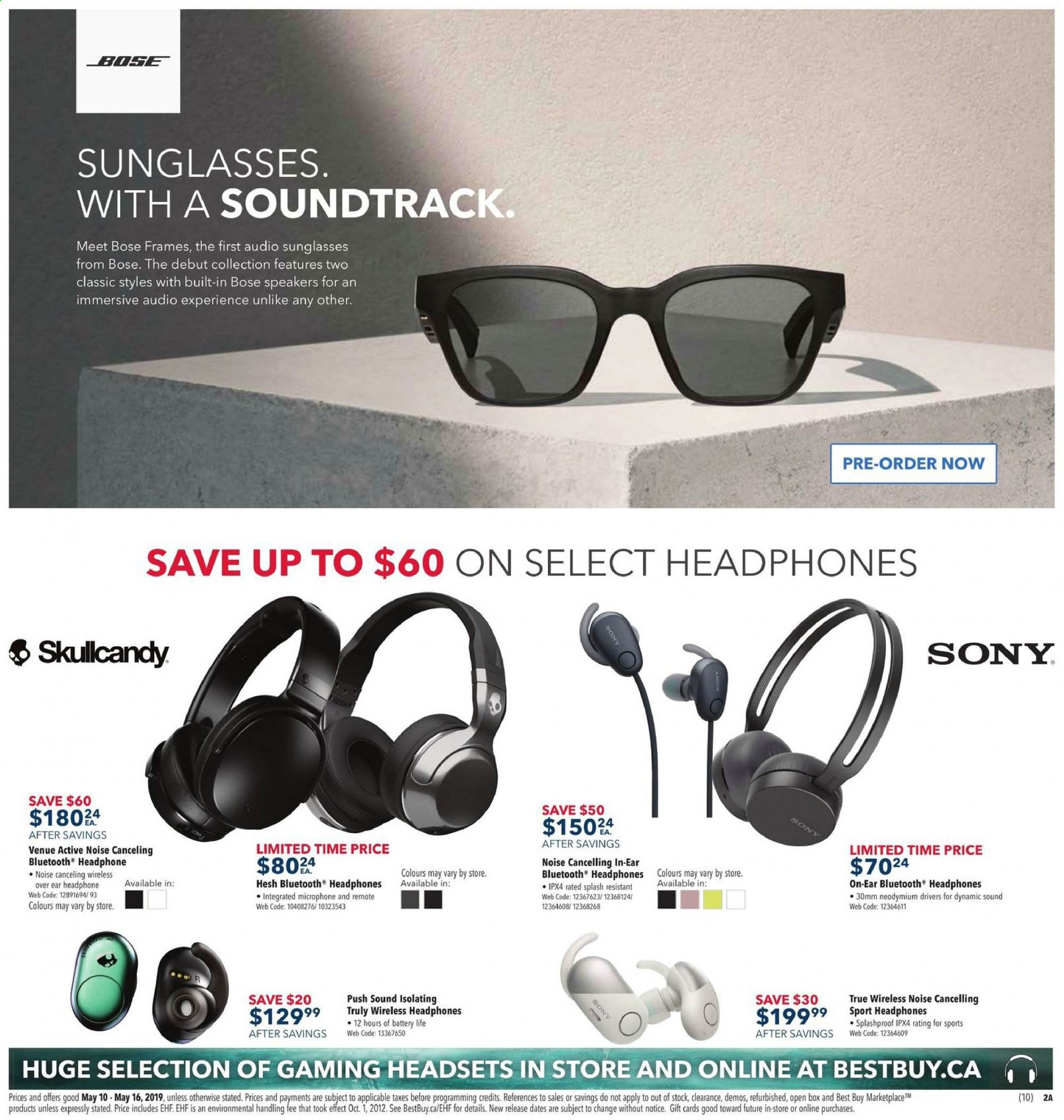 Best Buy Flyer May 10 2019 May 16 2019 Canadian Flyers