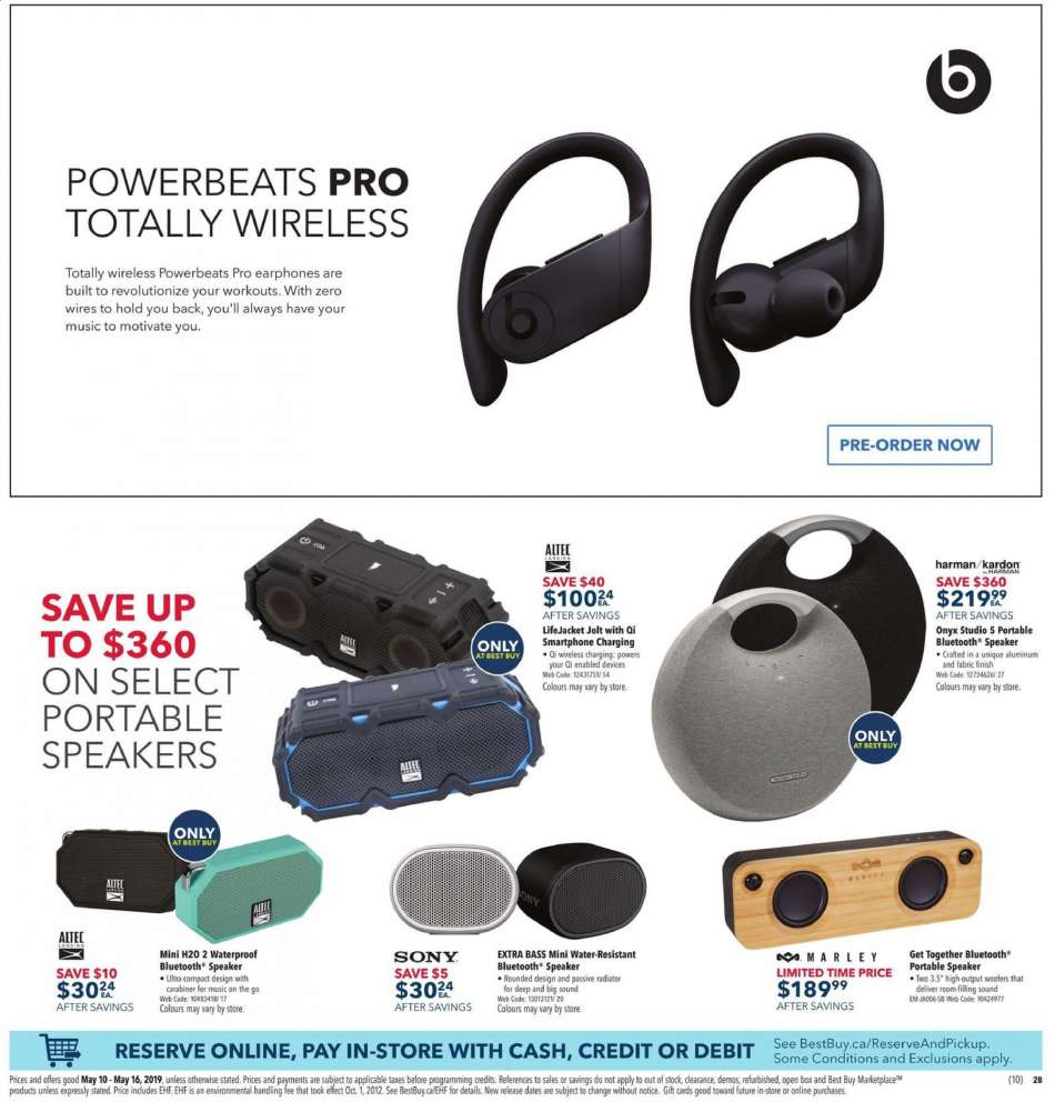 Current Best Buy flyer May 10, 2019 - May 16, 2019 | Ca