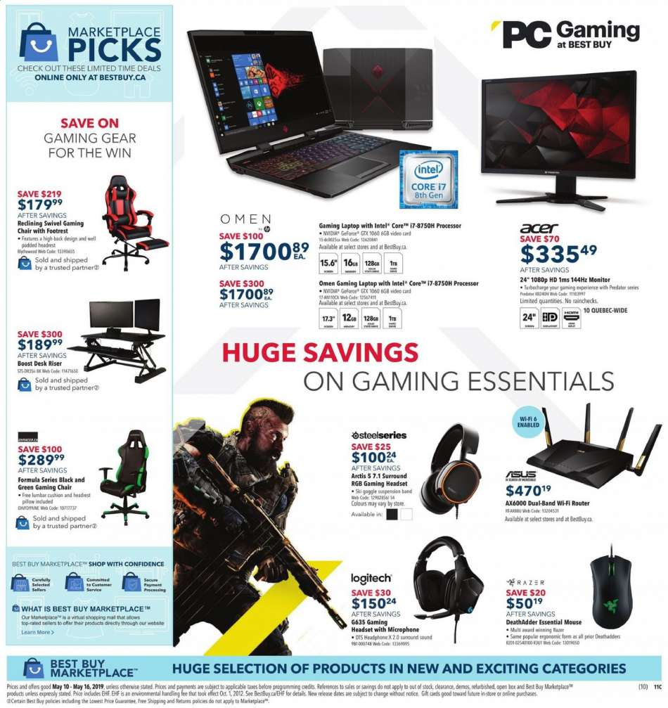 9f69efba3f0 Current Best Buy flyer May 10, 2019 - May 16, 2019 | Ca-flyers.com