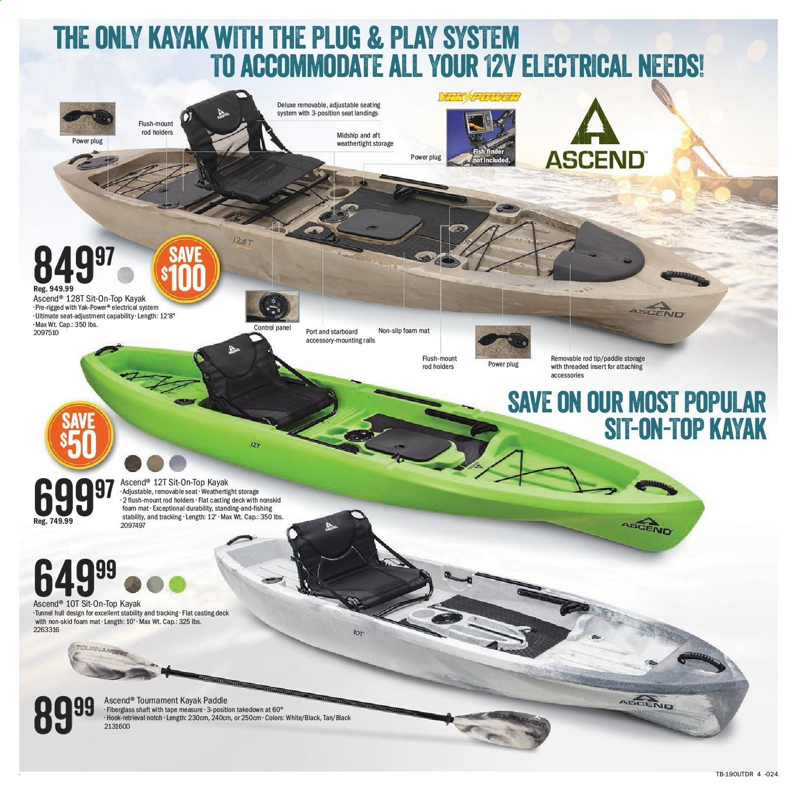 Bass Pro Shops Flyer  - May 08, 2019 - May 27, 2019. Page 4.