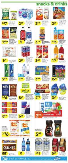 Current Mineral water sales, ads and coupons | Ca-flyers com