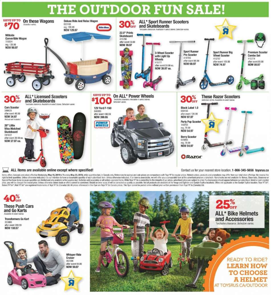 Current Toys R Us Flyer May 15 2019 May 23 2019 Ca Flyers Com