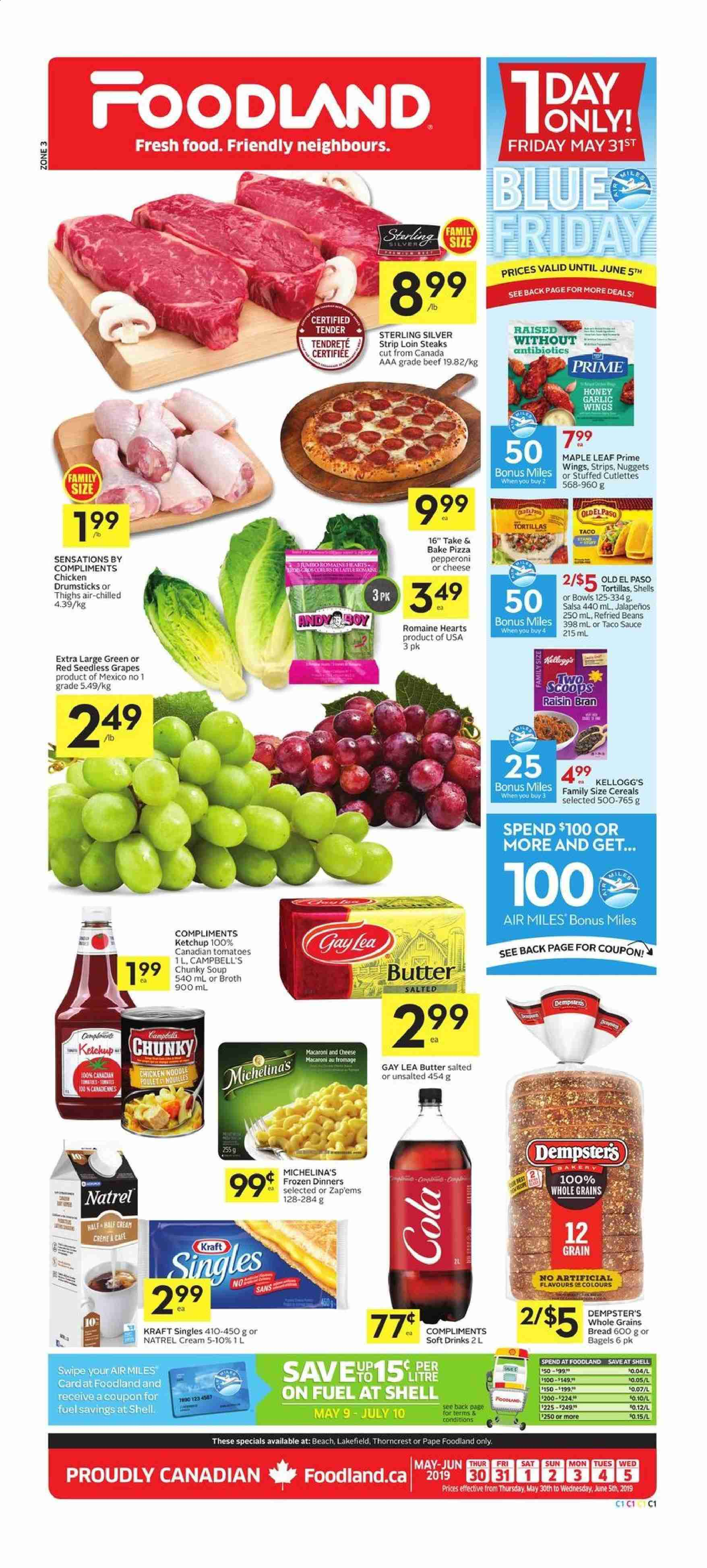 Foodland Flyer  - May 30, 2019 - June 05, 2019. Page 1.