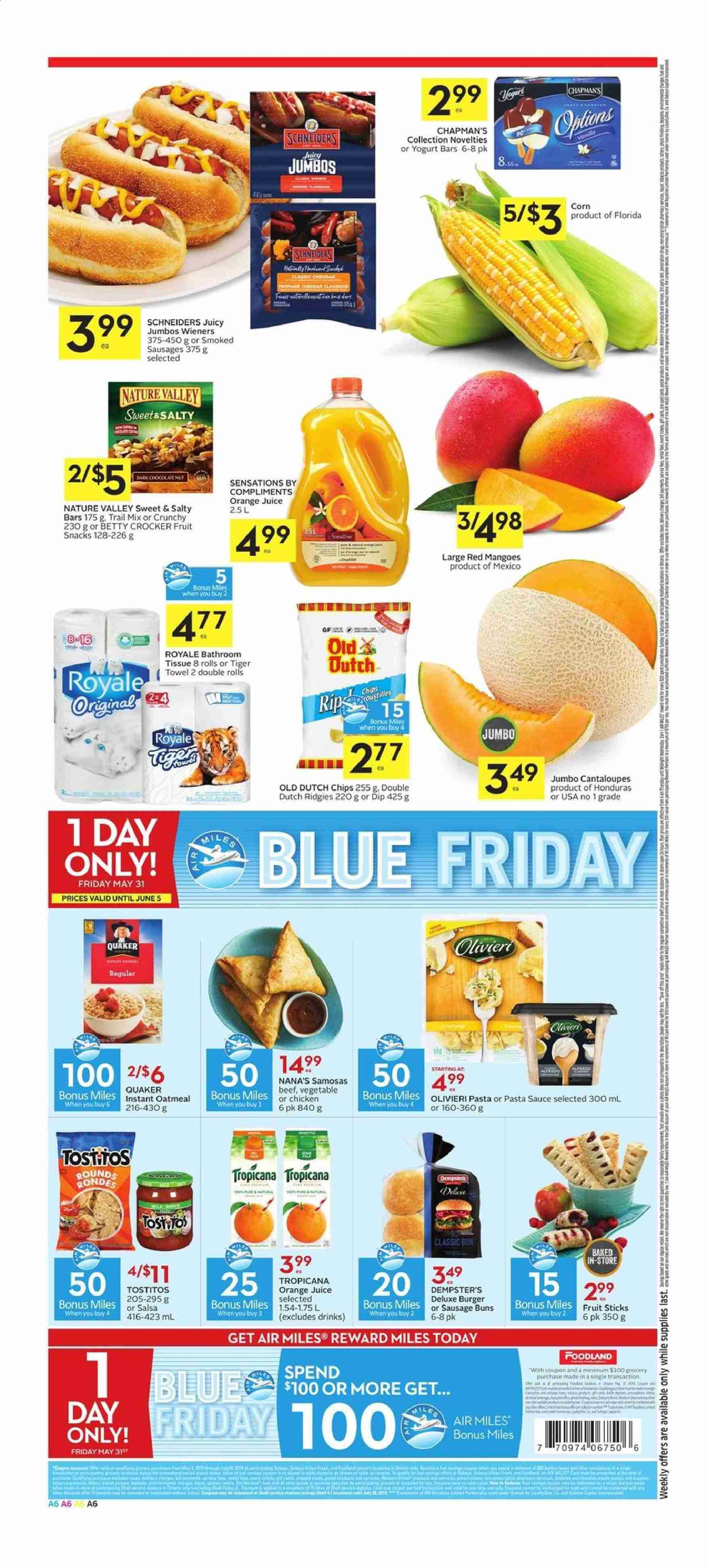 Foodland Flyer  - May 30, 2019 - June 05, 2019. Page 6.