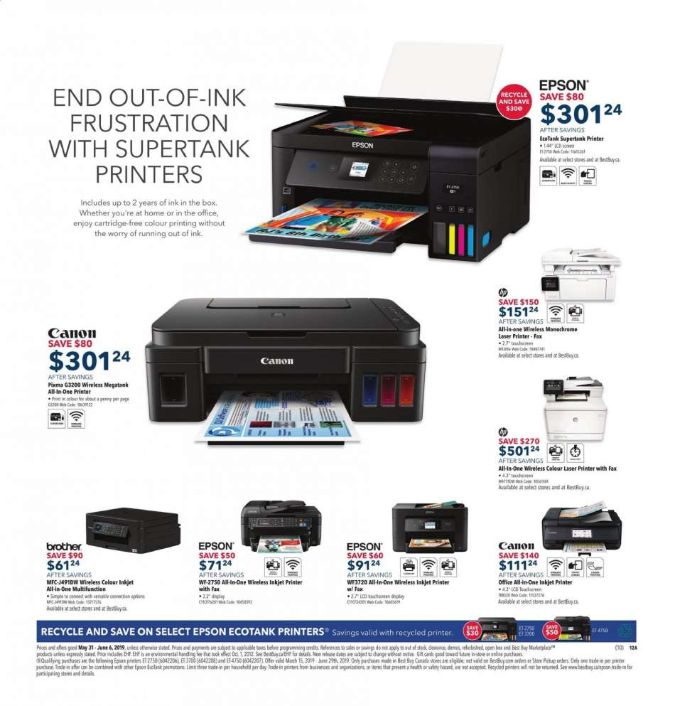 Current Best Buy flyer May 31, 2019 - June 06, 2019 | Ca