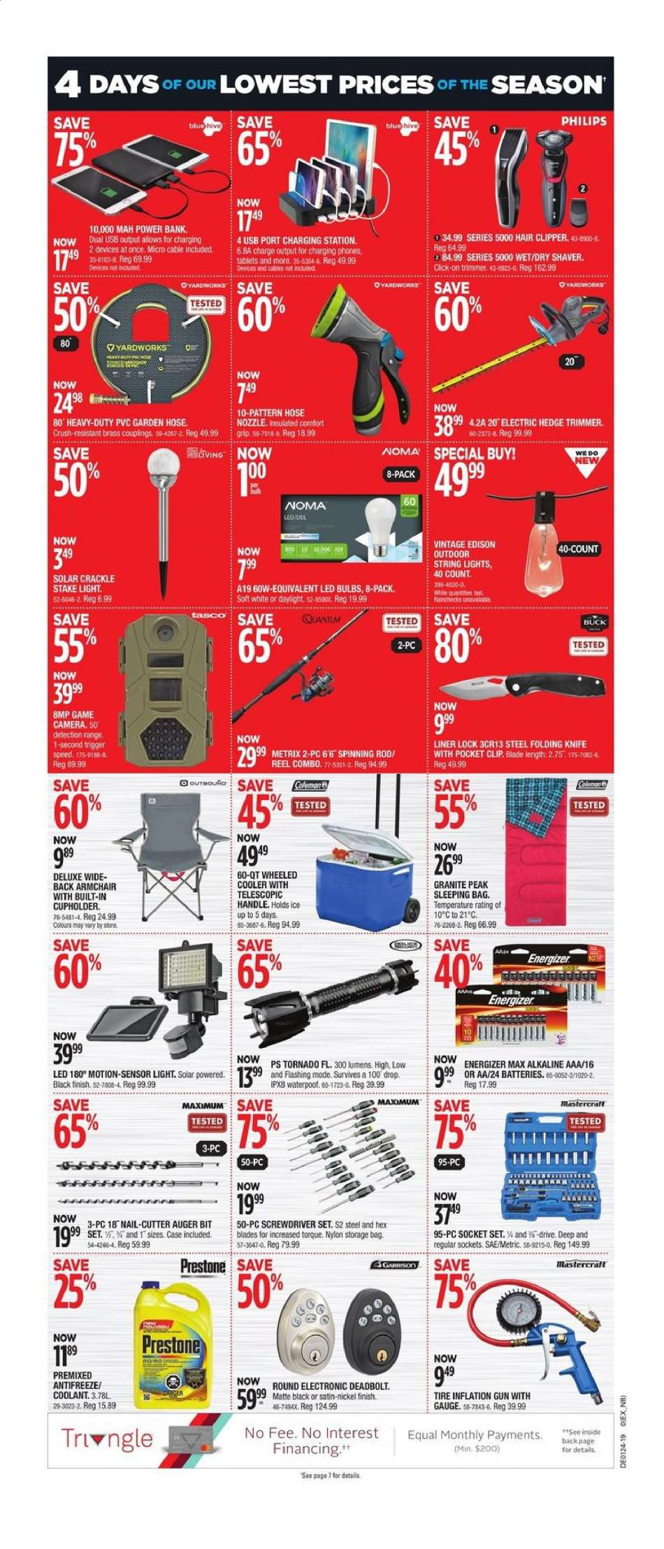 Current Canadian Tire flyer June 06, 2019 - June 09, 2019 | Ca