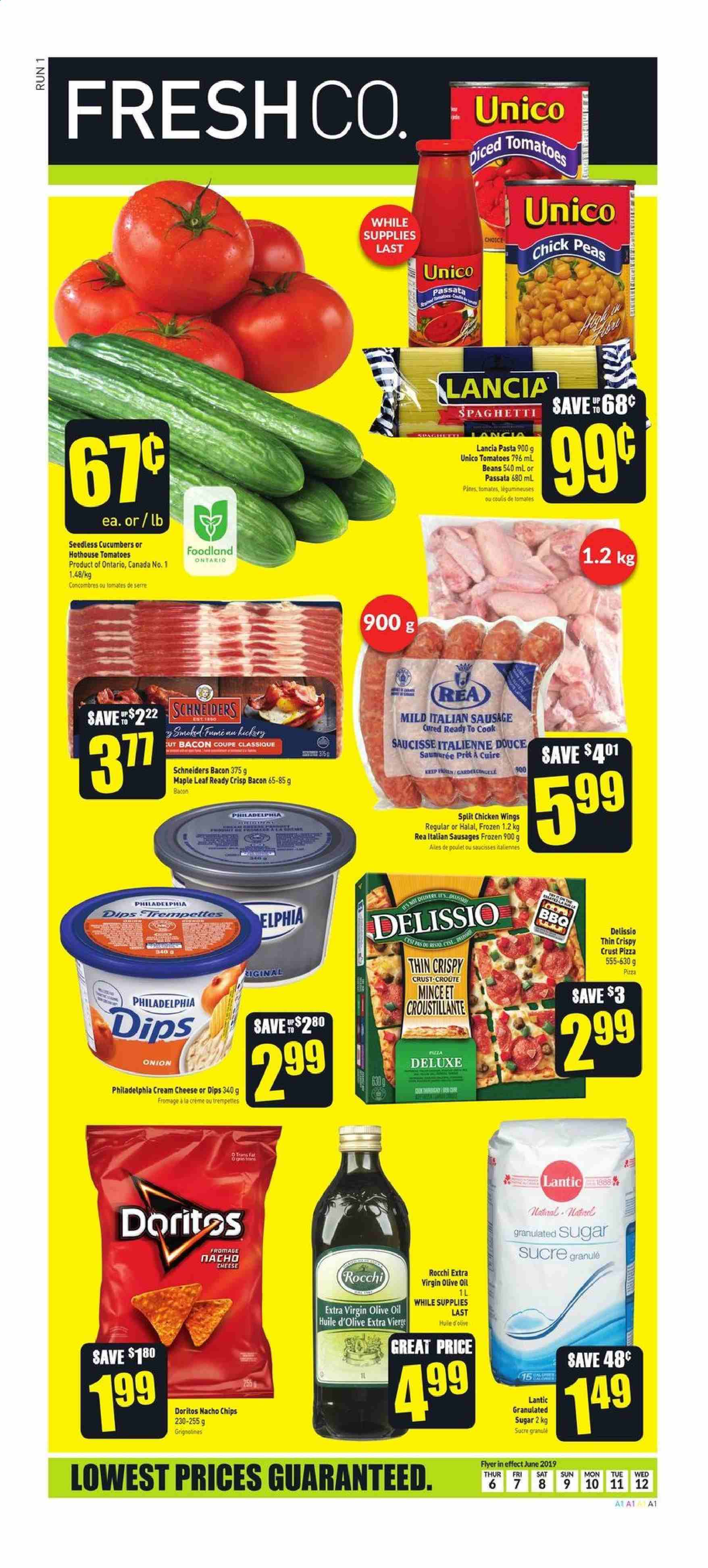 FreshCo. Flyer  - June 06, 2019 - June 12, 2019. Page 1.