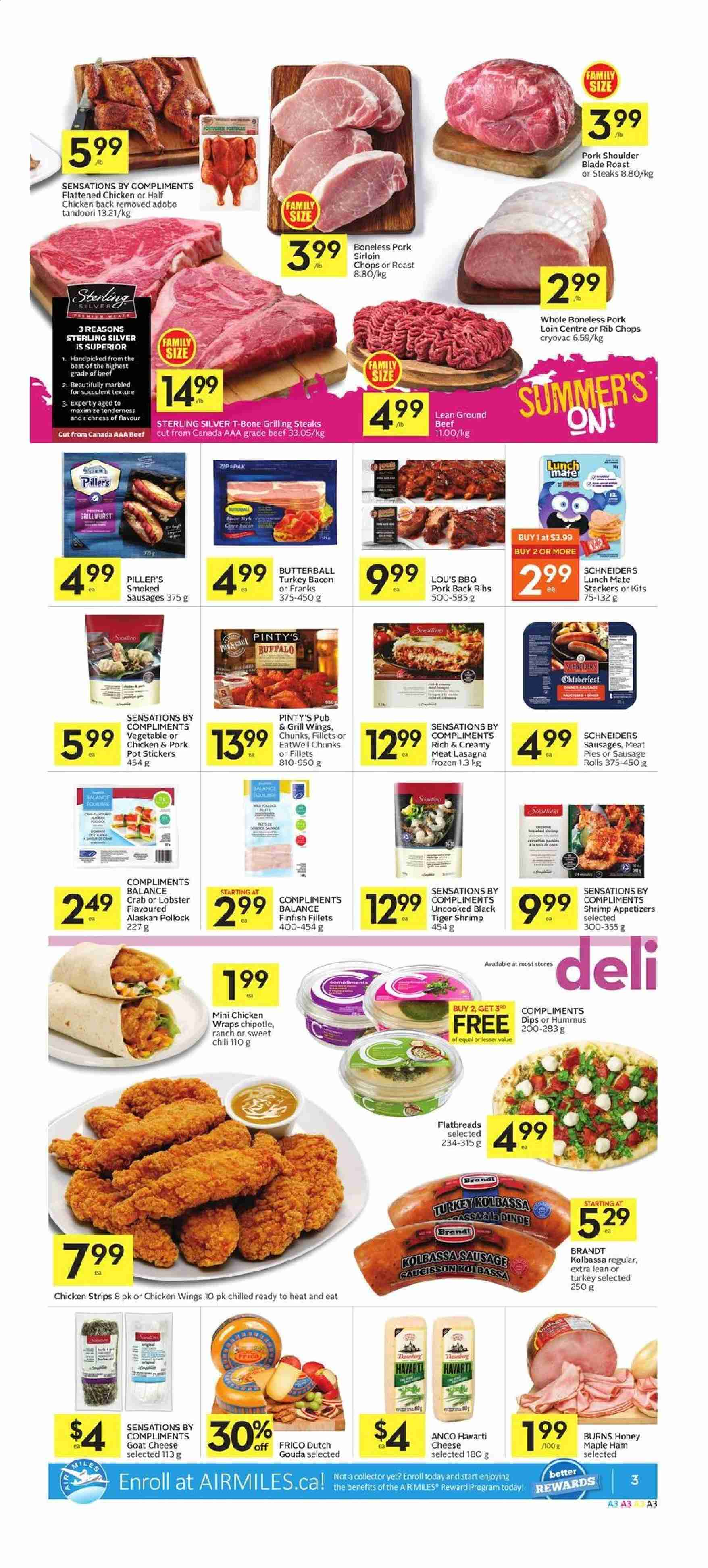 Foodland Flyer  - June 06, 2019 - June 12, 2019. Page 3.