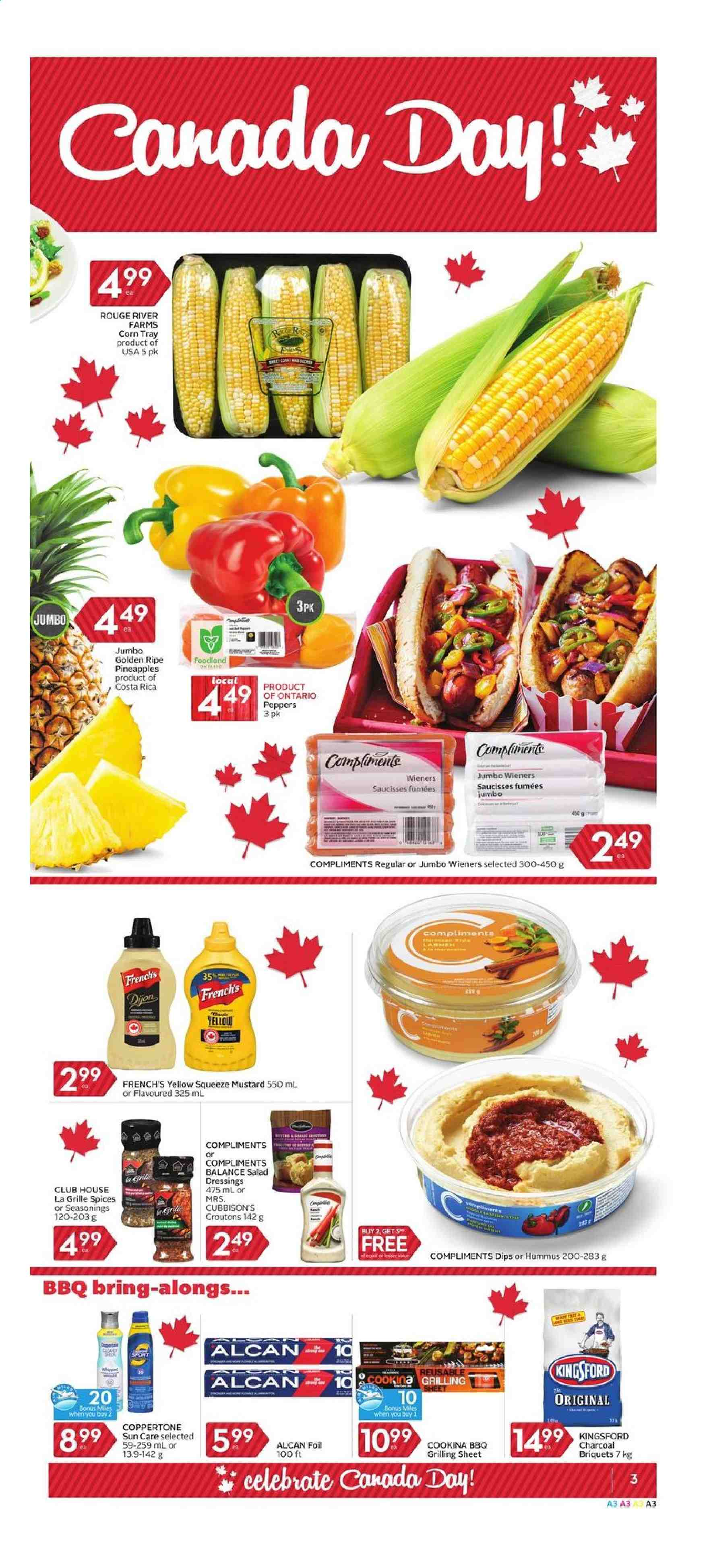 Foodland Flyer  - June 27, 2019 - July 03, 2019. Page 3.