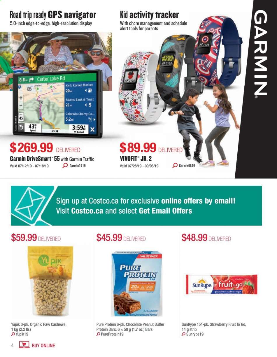 Current Costco flyer July 01, 2019 - August 31, 2019 | Ca
