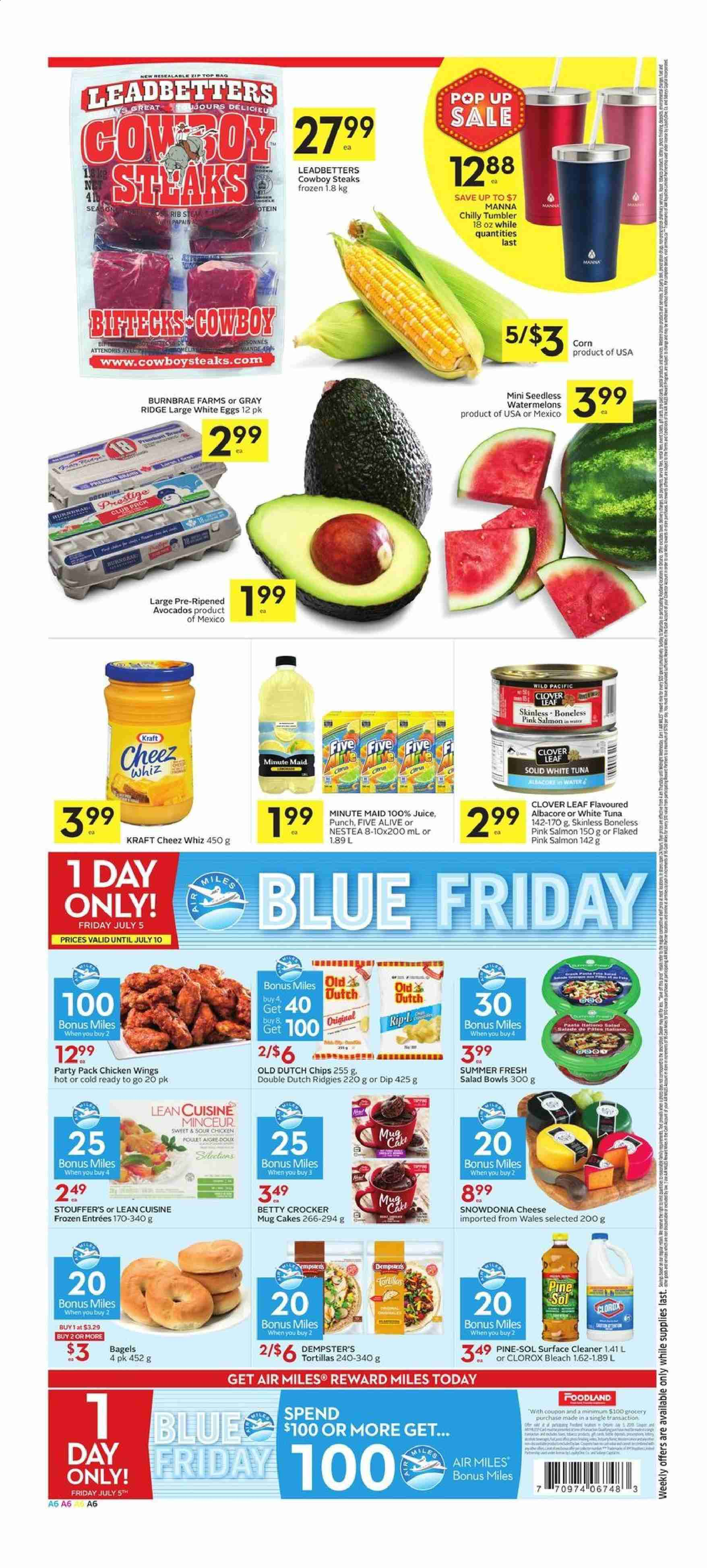 Foodland Flyer  - July 04, 2019 - July 10, 2019. Page 6.