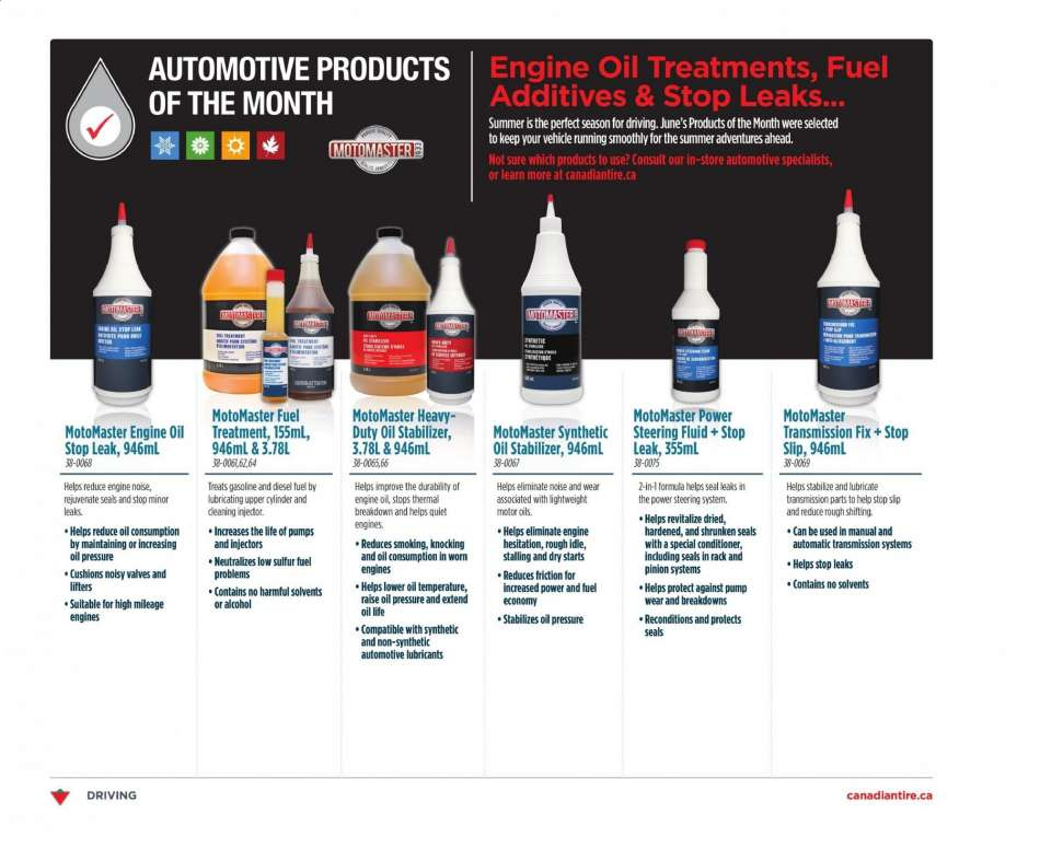 Current Canadian Tire flyer July 04, 2019 - July 10, 2019