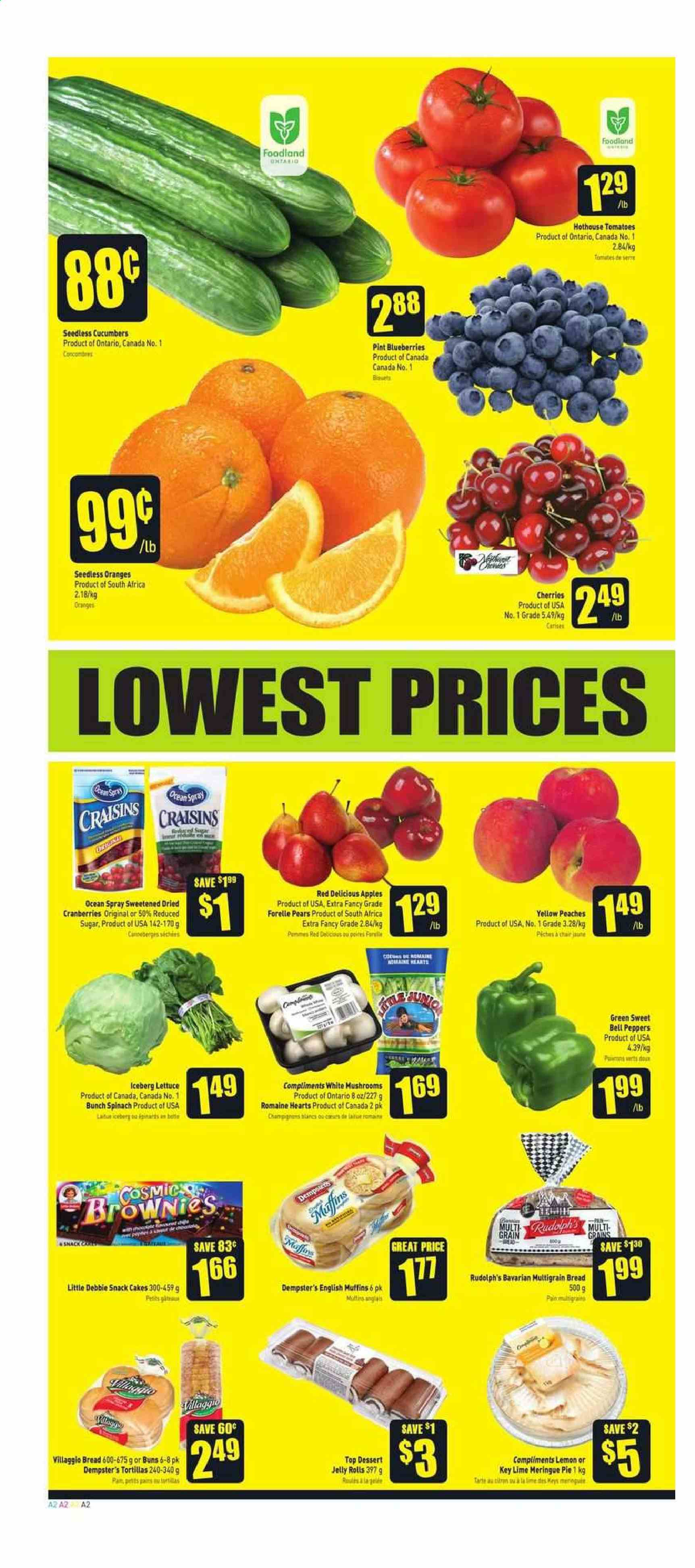FreshCo. Flyer  - July 11, 2019 - July 17, 2019. Page 2.