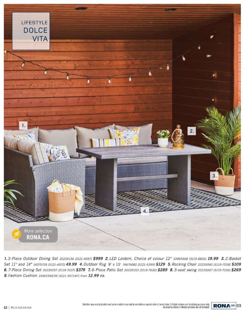 Excellent Current Rona Flyer February 28 2019 August 31 2019 Ca Evergreenethics Interior Chair Design Evergreenethicsorg